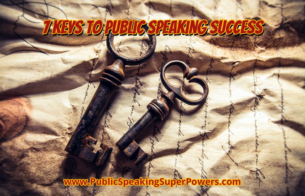 7 Keys to Public Speaking Success