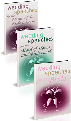 Wedding Speeches for Women package