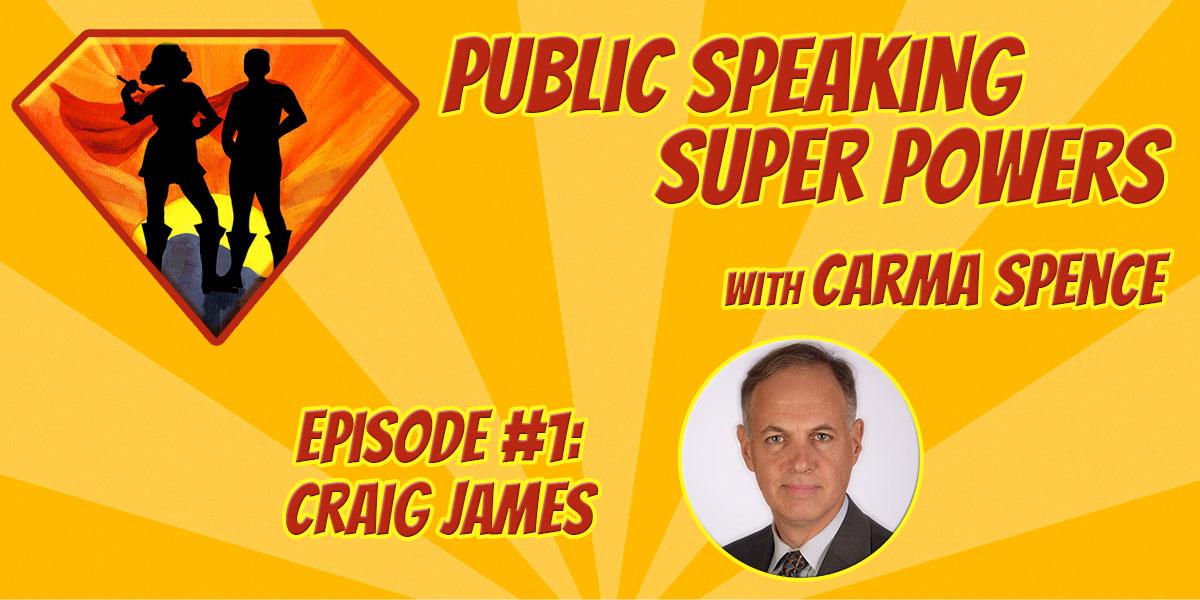 Podcast Episode 1 - Craig James