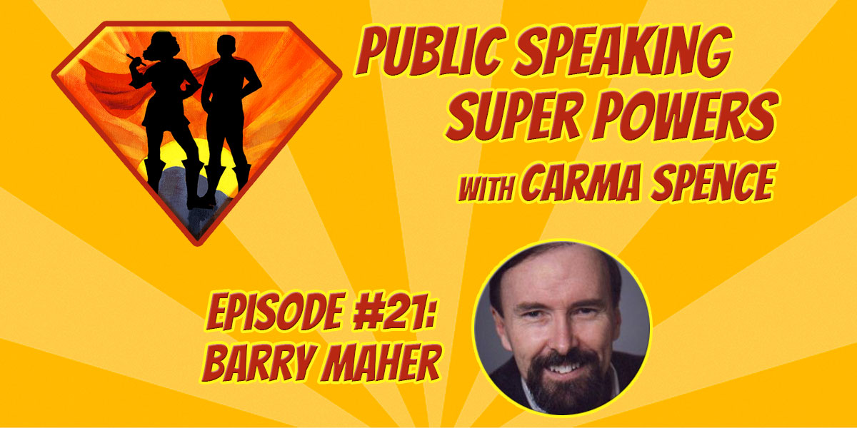 Episode 21 - Barry Maher