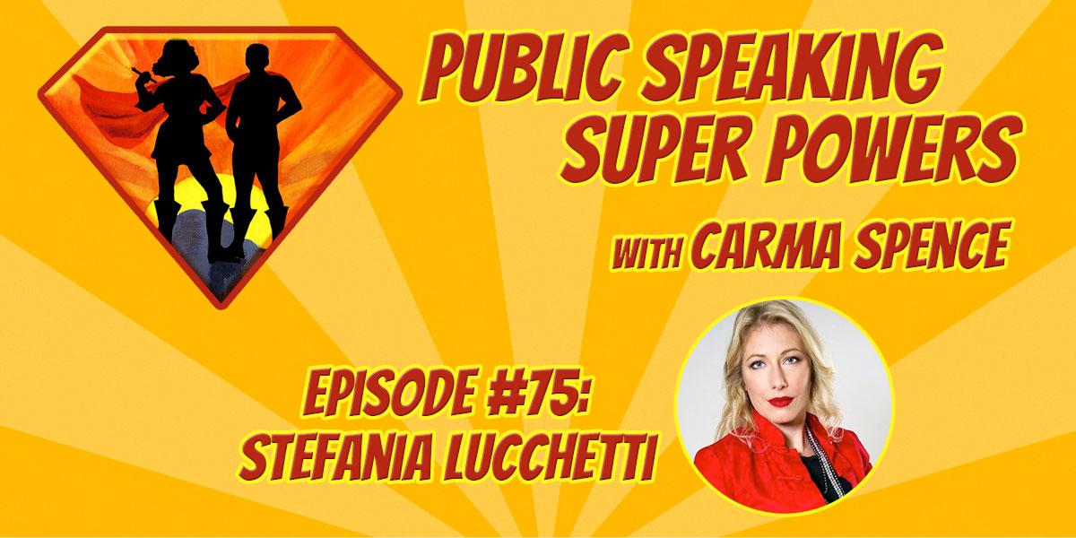 Episode 75 Stefania Lucchetti