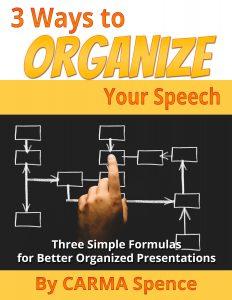 3 ways to organize your speech