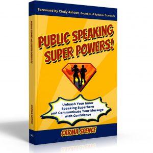 Public Speaking Super Powers 3D cover