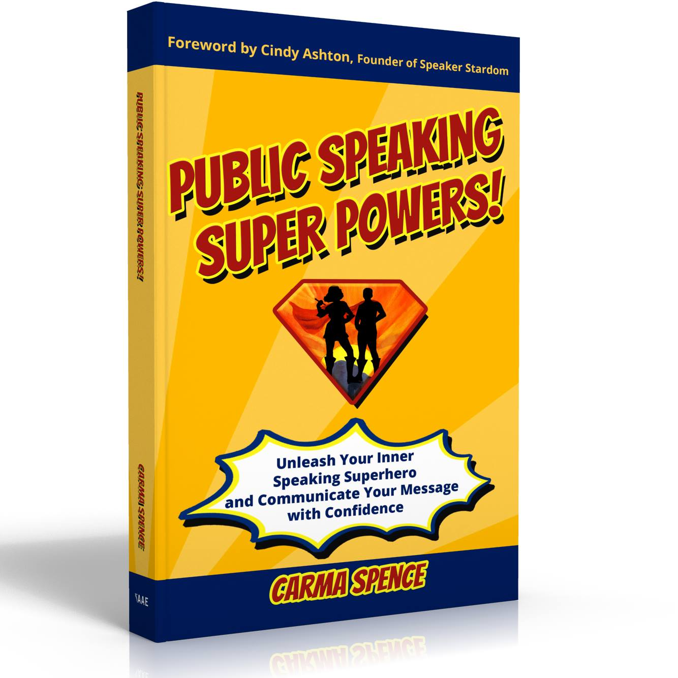 Public Speaking Super Powers Book Cover