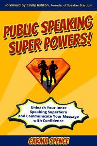 Public Speaking Super Powers cover