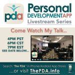 PDA App livestream series