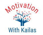 Motivation with Kailas logo