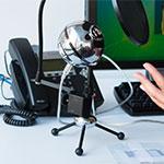 desktop standing mic