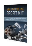 Video Marketing Profit Kit Resource Cheat Sheet