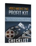 Video Marketing Profit Kit Checklist