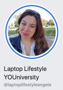 Angela Wills, Laptop Lifestyle YOUniversity