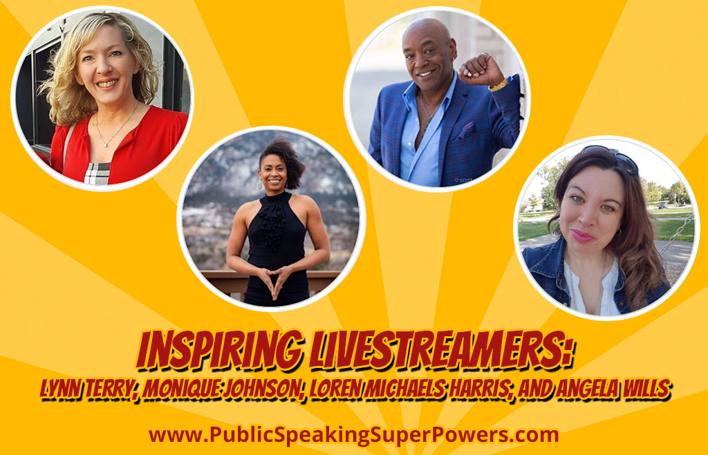 Inspiring Livestreamers: Lynn Terry, Monique Johnson, Loren Michaels Harris, and Angela Wills